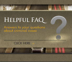 Frequently Asked Questions about Criminal Cases